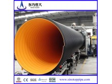 fast construction high density PE double-wall corrugated pipe