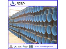 HDPE Double-Wall Corrugated Pipe for Sewage